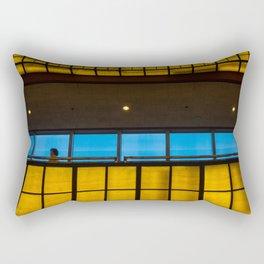 Complimentary Colors Walkway Rectangular Pillow
