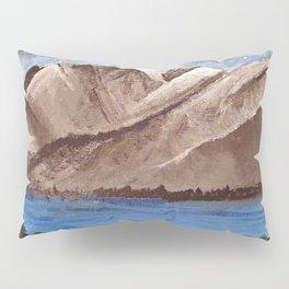 Serene Mountains Pillow Sham