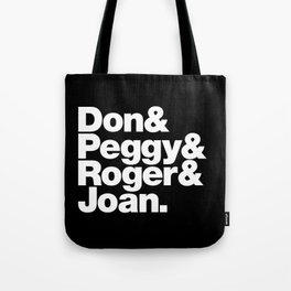 The Fab 4 - Mad Men Tote Bag