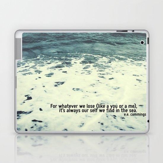 You Sea Me Laptop & iPad Skin