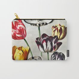 Robert John Thornton - Tulips Carry-All Pouch