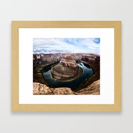 Horseshoe Bend Framed Art Print