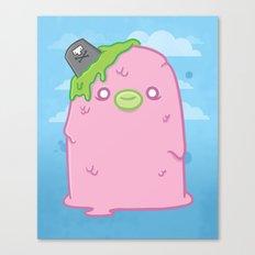Pink Sewage Paul : Creepy but Cute Monster Series Canvas Print