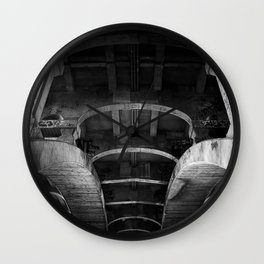 belly of the whale Wall Clock