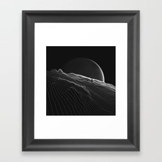 Private version of the world Framed Art Print