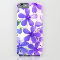 Flowers in crystal 2 Slim Case iPhone 6s