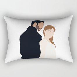 Simon and Daphne Bridgerton series Rectangular Pillow