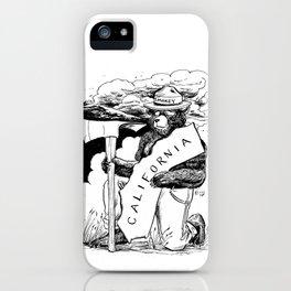 California, we love you iPhone Case