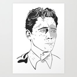 Dr. Robert Laing from High-Rise Art Print