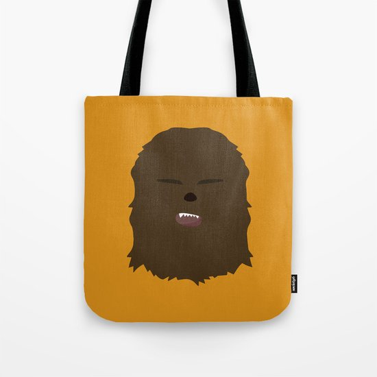 Star Wars Minimalism - Chewbacca Tote Bag