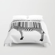 Property of Earth Duvet Cover