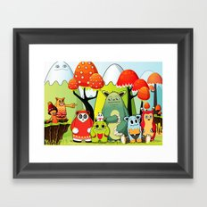 The Gang Framed Art Print