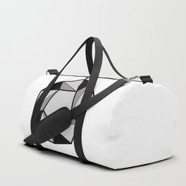 Geometric shapes 2. prism art . black line prism for living room, Home Decor Graphicdesign Duffle Bag