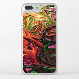 Zinnia Clear iPhone Case