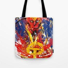 Red T Tote Bag