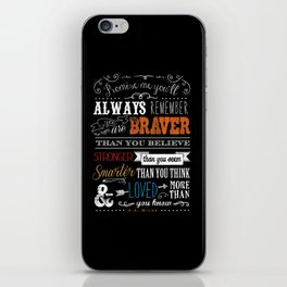 Promise me this iPhone Skin