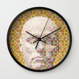 Thoughts dot pattern  Wall Clock