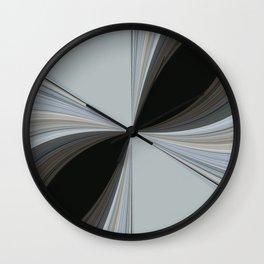 Brown and Grey Tones of Eucalyptus  Wall Clock