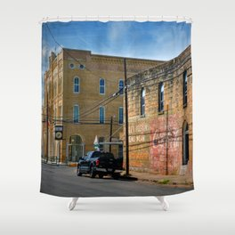 Gonzales County Shower Curtain