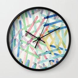 Microscopic Play Wall Clock