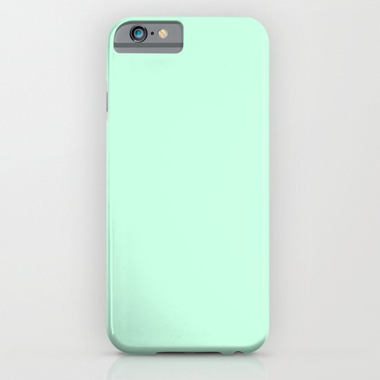 Aero blue iPhone & iPod Case