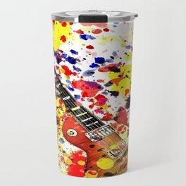 Retro Les Paul guitar Travel Mug