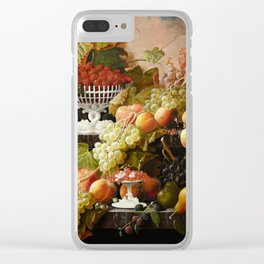 Abundance of Fruits Clear iPhone Case
