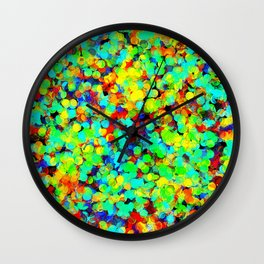 I Want To Be A Rainbow But I Don't Know How Wall Clock