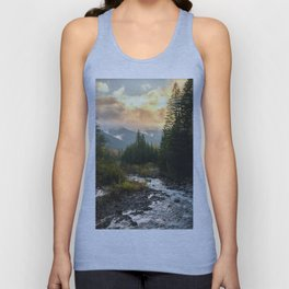 The Sandy River I - nature photography Unisex Tank Top