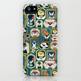Cats wall of fame iPhone Case
