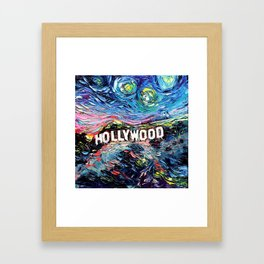 van Gogh Never Saw Hollywood Framed Art Print