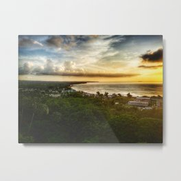 Sunset Aguadilla Metal Print