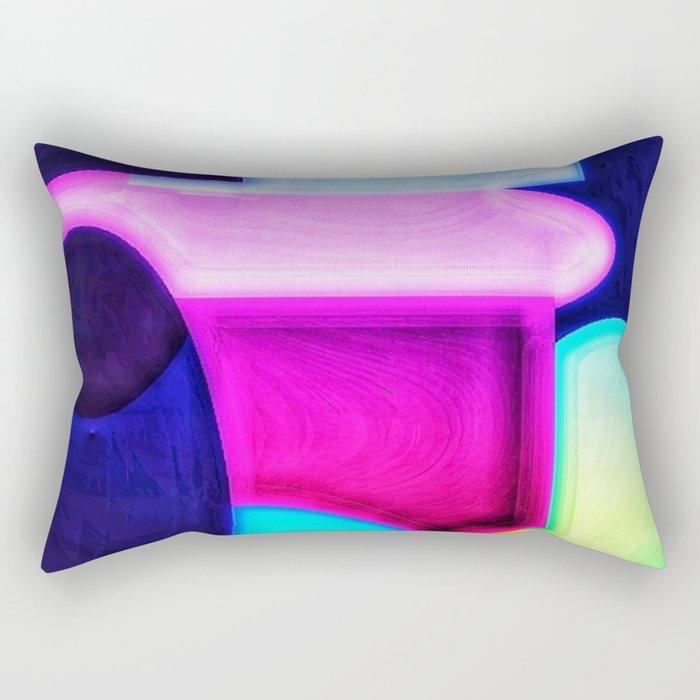 Shapes #01 Rectangular Pillow