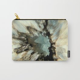 Crystal Abstract Carry-All Pouch