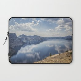 Crater Lake with a view of the Phantom Ship Laptop Sleeve