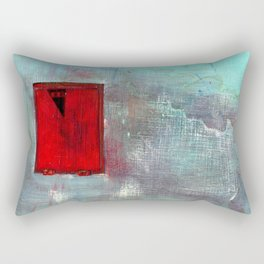 VENTANA EN EL MURO Rectangular Pillow