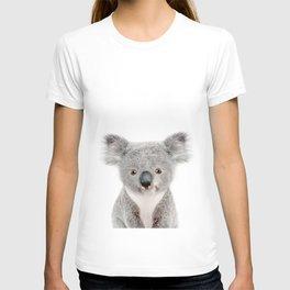 Baby Koala Portrait T-shirt