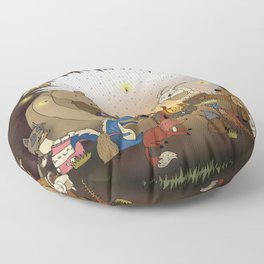 Woodland Tales Floor Pillow