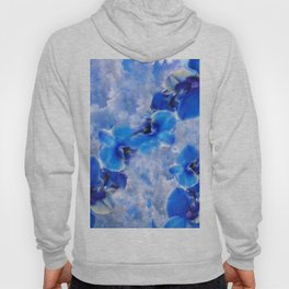 Orchids Blue Hoody