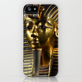 Tutankamen' Death Mask iPhone Case