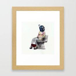 Bobaette Framed Art Print