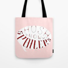 Hush Now. Tote Bag