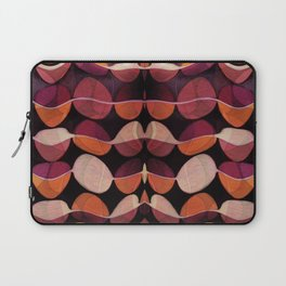 """""""Retro Rose Petals Abstract painting"""" Laptop Sleeve"""