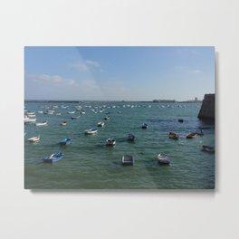Bay of Cadiz Metal Print