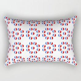 Flag of France 9- France, Français,française, French,romantic,love,gastronomy Rectangular Pillow