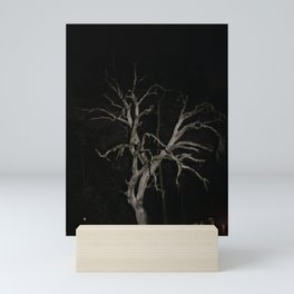 Night Photography Tree Skeleton Mini Art Print