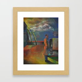 Isolated Contemplation Framed Art Print