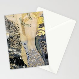 Gustav Klimt - The Hydra - Digital Remastered Edition Stationery Cards