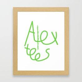 Alex cool tees Framed Art Print