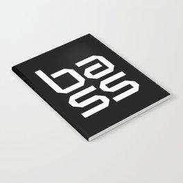 Bass Block Music Quote Notebook